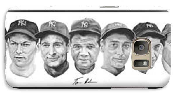 Yankees Galaxy Case by Tamir Barkan