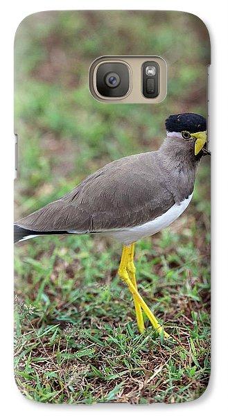 Yellow-wattled Lapwing Galaxy S7 Case by Peter J. Raymond