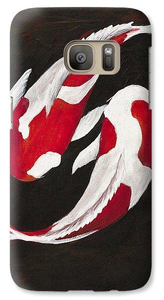 Yin And Yang Galaxy S7 Case by Darice Machel McGuire