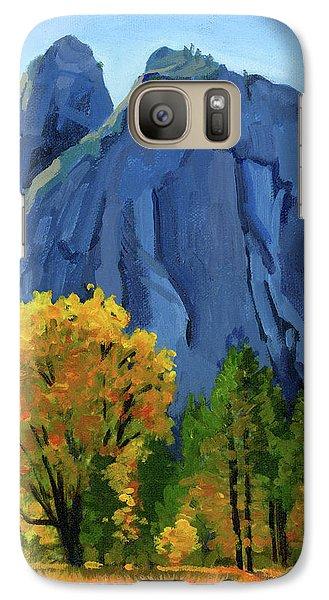 Yosemite Oaks Galaxy Case by Alice Leggett