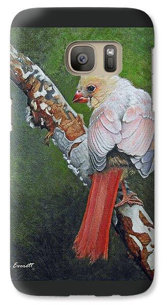 Young Cardinal  Galaxy Case by Ken Everett