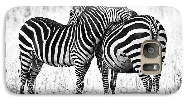 Zebra Love Galaxy Case by Adam Romanowicz