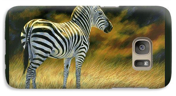 Zebra Galaxy Case by Lucie Bilodeau