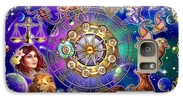 Zodiac 2 Galaxy Case by Ciro Marchetti