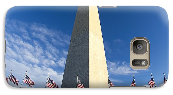 Washington Monument Galaxy S7 Case by Dustin K Ryan