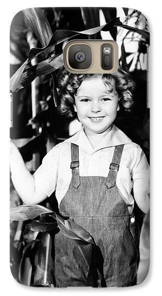 Shirley Temple (1928- ) Galaxy S7 Case by Granger