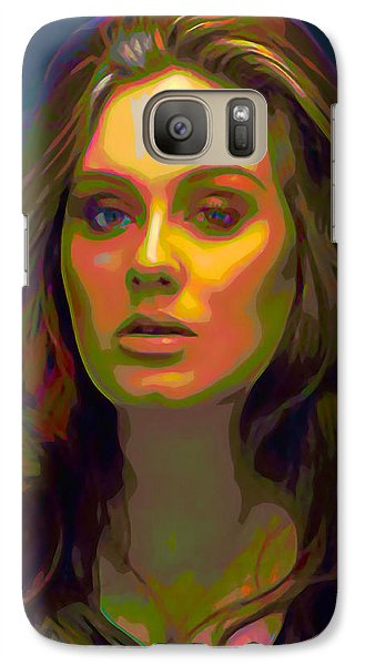 Adele Galaxy S7 Case by  Fli Art