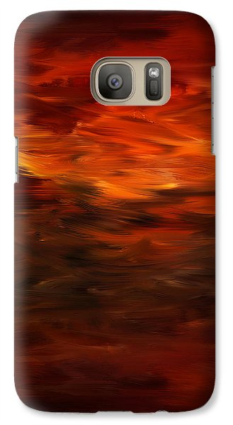 Autumn's Grace Galaxy Case by Lourry Legarde