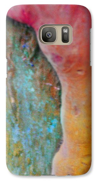 Galaxy Case featuring the digital art Become by Richard Laeton