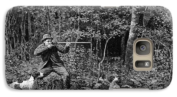 Bird Shooting, 1886 Galaxy S7 Case by Granger