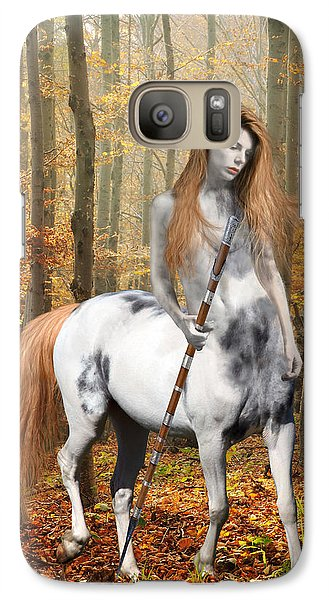 Centaur Series Autumn Walk Galaxy Case by Nikki Marie Smith