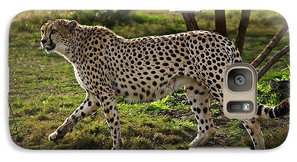 Cheetah  Galaxy Case by Garry Gay