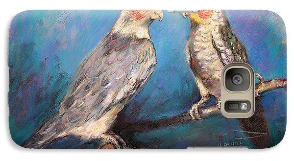 Coctaiel Parrots Galaxy Case by Ylli Haruni