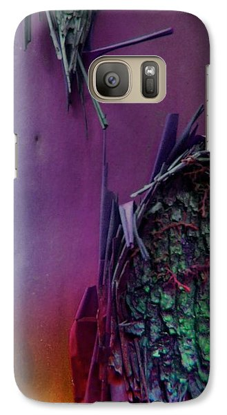 Galaxy Case featuring the digital art Connect by Richard Laeton