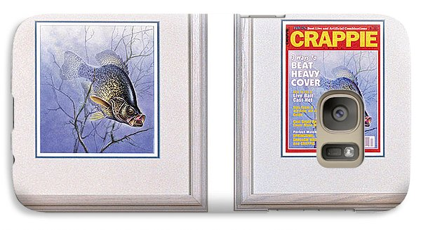 Crappie Magazine And Original Galaxy Case by JQ Licensing