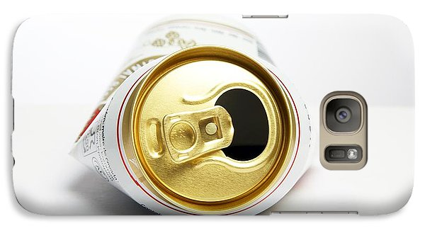 Crushed Beer Can Galaxy S7 Case by Victor De Schwanberg
