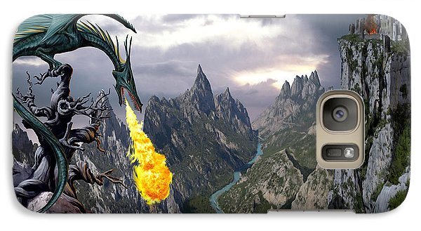 Dragon Valley Galaxy S7 Case by The Dragon Chronicles - Garry Wa