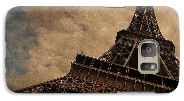 Eiffel Tower 2 Galaxy S7 Case by Mary Machare