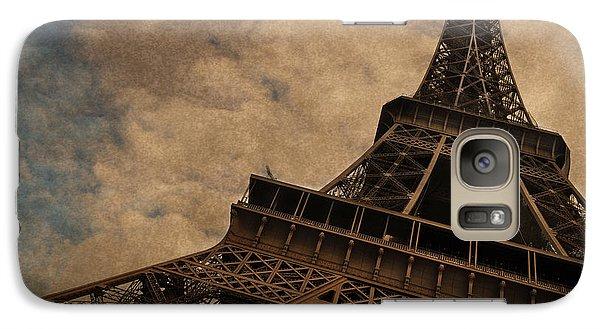 Eiffel Tower 2 Galaxy Case by Mary Machare