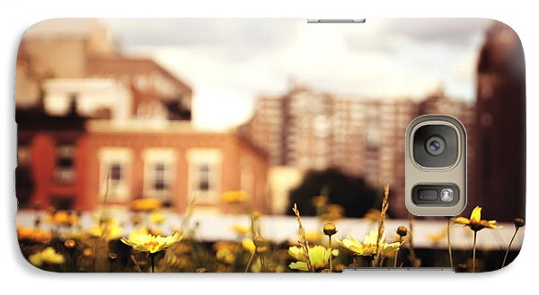 Flowers - High Line Park - New York City Galaxy Case by Vivienne Gucwa