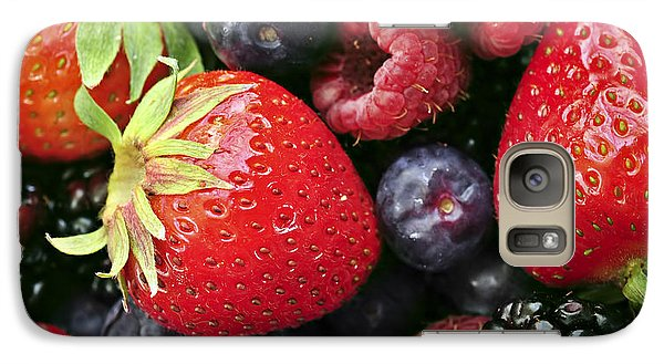 Fresh Berries Galaxy Case by Elena Elisseeva