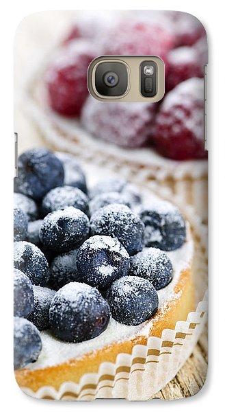 Fruit Tarts Galaxy S7 Case by Elena Elisseeva