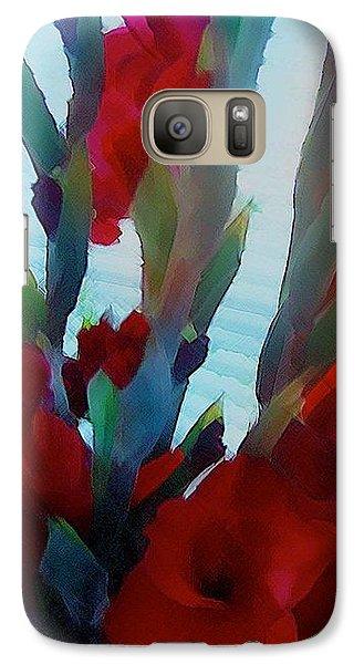 Galaxy Case featuring the digital art Glad by Richard Laeton