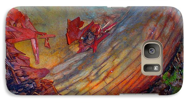 Galaxy Case featuring the digital art Here And Now by Richard Laeton