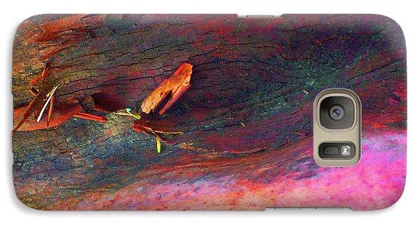 Galaxy Case featuring the digital art Landing by Richard Laeton