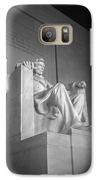 Lincoln Memorial  Galaxy Case by Mike McGlothlen