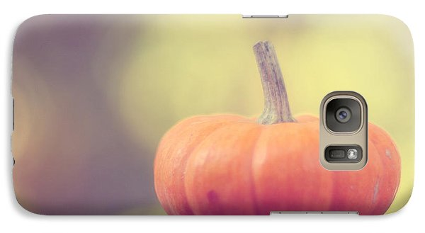 Little Pumpkin Galaxy Case by Amy Tyler