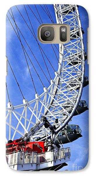 London Eye Galaxy Case by Elena Elisseeva