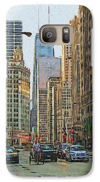 Michigan Avenue Galaxy Case by Vladimir Rayzman