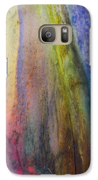 Galaxy Case featuring the digital art Move On by Richard Laeton