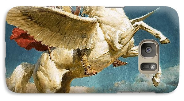 Pegasus The Winged Horse Galaxy S7 Case by Fortunino Matania
