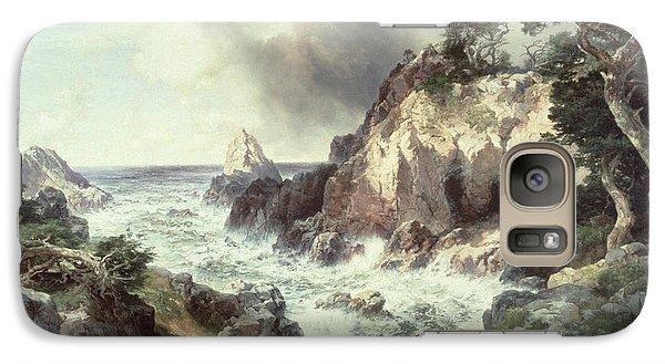Point Lobos At Monterey In California Galaxy Case by Thomas Moran