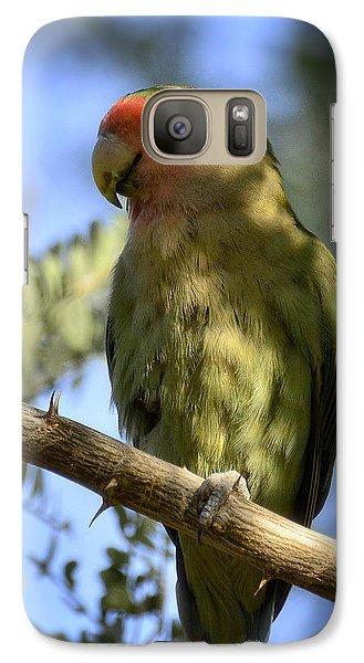 Pretty Bird Galaxy S7 Case by Saija  Lehtonen