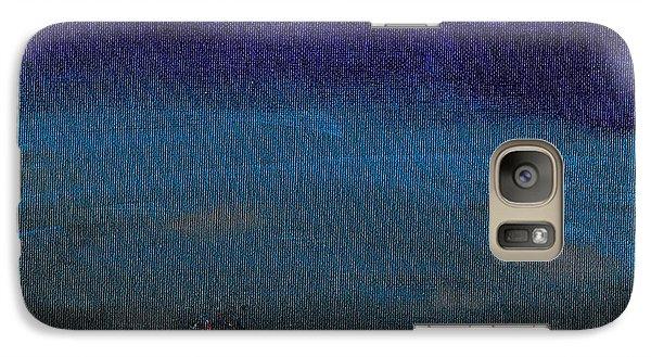 Red Cyclops Range Galaxy S7 Case by Jera Sky