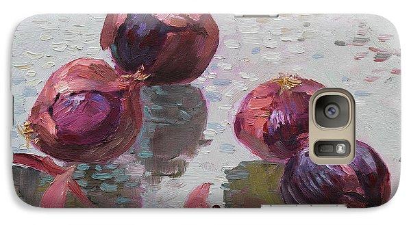 Red Onions Galaxy S7 Case by Ylli Haruni