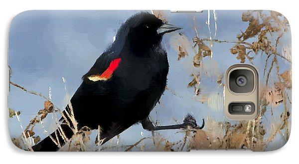 Redwing Blackbird Galaxy S7 Case by Betty LaRue