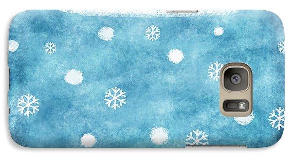 Snow Winter Galaxy S7 Case by Setsiri Silapasuwanchai