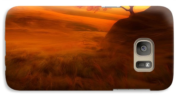 Sunset Duet Galaxy Case by Lourry Legarde