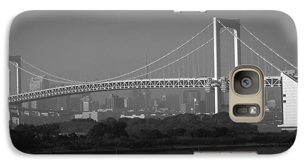Tokyo Rainbow Bridge Galaxy S7 Case by Naxart Studio