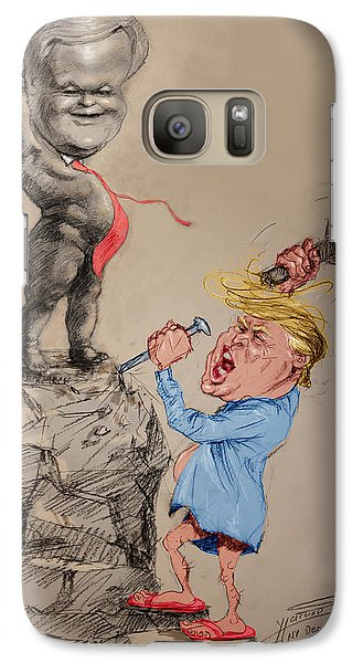Trump Shaping Up The Future Galaxy S7 Case by Ylli Haruni