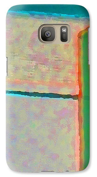 Galaxy Case featuring the digital art Up And Over by Richard Laeton