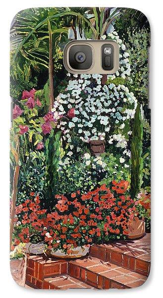 A Garden Approach Galaxy Case by David Lloyd Glover