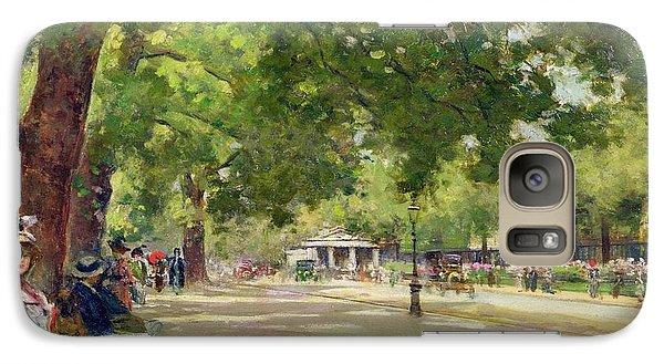 Hyde Park - London Galaxy S7 Case by Count Girolamo Pieri Nerli