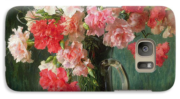 Still Life Of Carnations   Galaxy S7 Case by Emile Vernon
