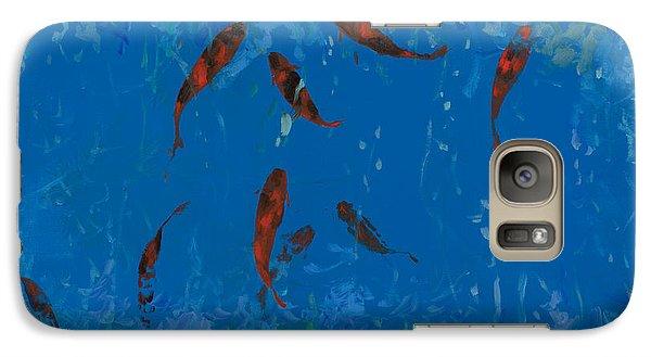 9 Pesciolini Rossi Galaxy Case by Guido Borelli