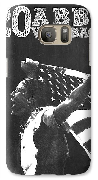 Abby Wambach Galaxy Case by Semih Yurdabak